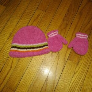 Accessories - Hat, glove set lot 2-4 years old